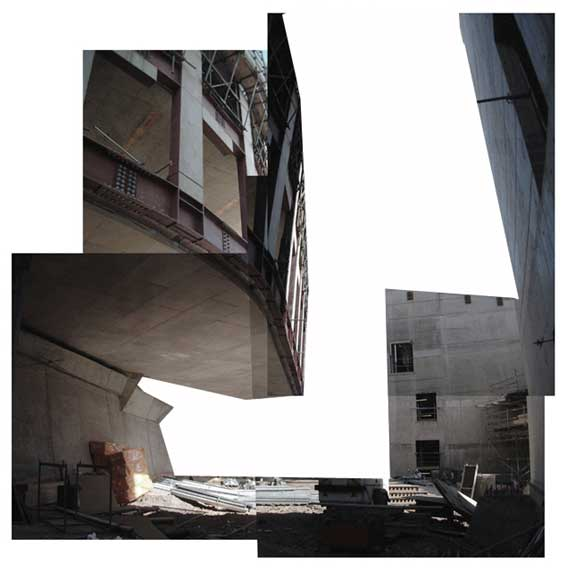 Canongate办工楼的巨大悬挑,划出了一片动感的天际线