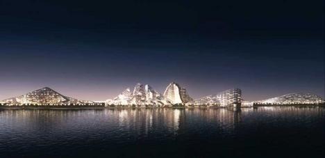 "BIG公布阿塞拜疆""碳中和""设计方案/"