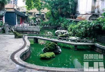 1 广东古代园林流传的辉煌业绩     广东地处亚热带,气候温和,多