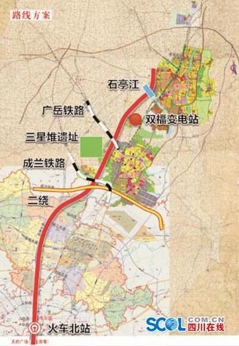 成都天府大道北延线开工 全球最长城市中轴线150公里 -ABBS建筑论