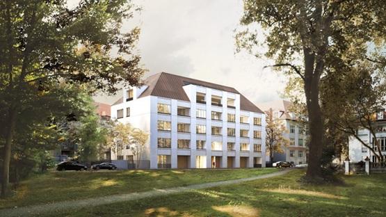 """大卫·奇普菲尔德展示慕尼黑""""城市宫殿""""公寓形象"""