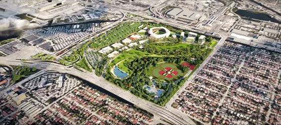 贝克汉姆的迈阿密足球场获得公众支持
