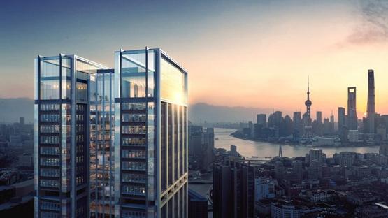 福斯特的上海摩天楼开工