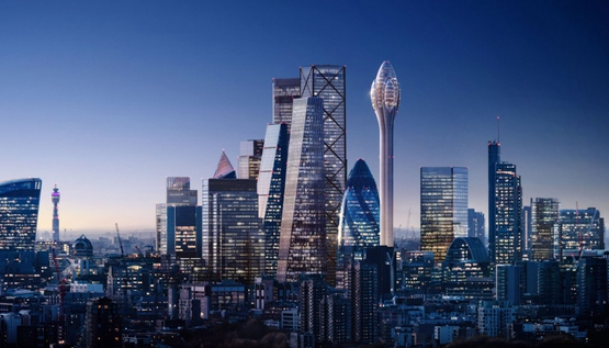 福斯特计划为伦敦建造305米高观光塔