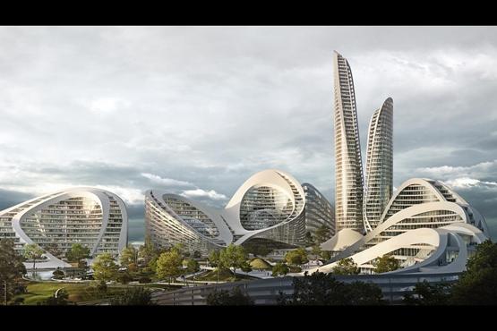 扎哈事务所将设计俄罗斯新城区