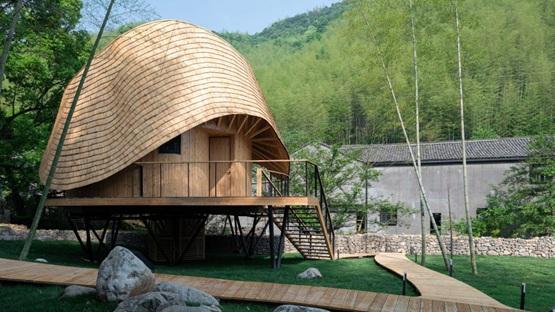 """度向建筑在中国设计""""异形""""乡村别墅"""