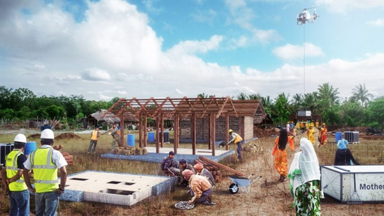 卡洛·拉蒂为印度农村开发预制住房系统