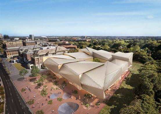 """迪勒·斯科菲多·伦弗罗和伍兹·巴戈特设计""""玻璃博物馆""""插图1"""